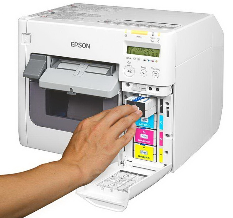 Epson ColorWorks TM-C3500 картриджи